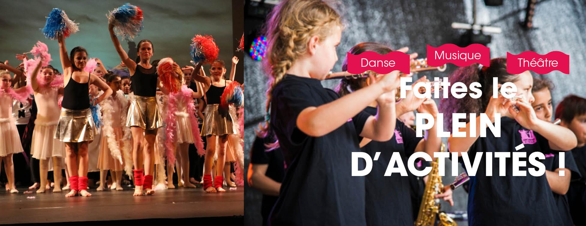 Inscriptions à l'école de musique, danse et théâtre