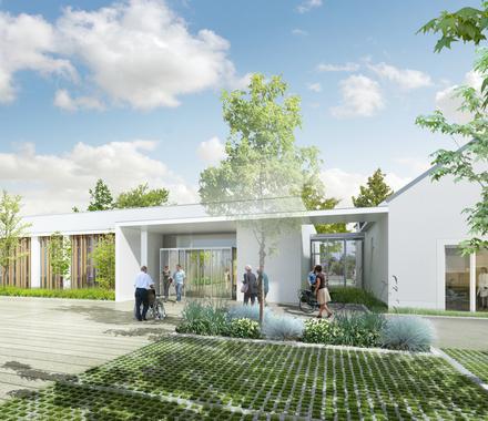 Maison de Santé: la construction avance