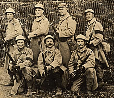 1914-1918 A LA CHAPELLE-SAINT-MESMIN